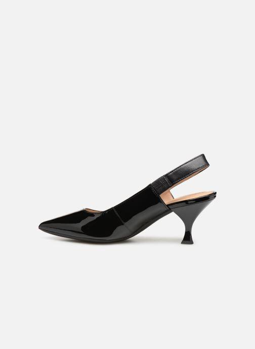 Zapatos de tacón Geox D ELISANGEL MID A D92BWA Negro vista de frente