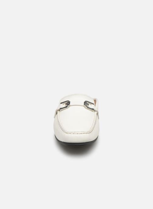 Mules et sabots Geox D ANNYTA B D92BMB Blanc vue portées chaussures
