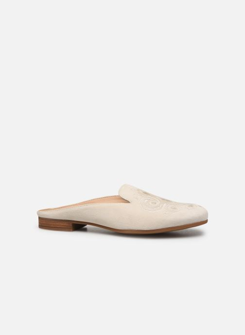 Wedges Geox D MARILYNA A D928PA Wit achterkant
