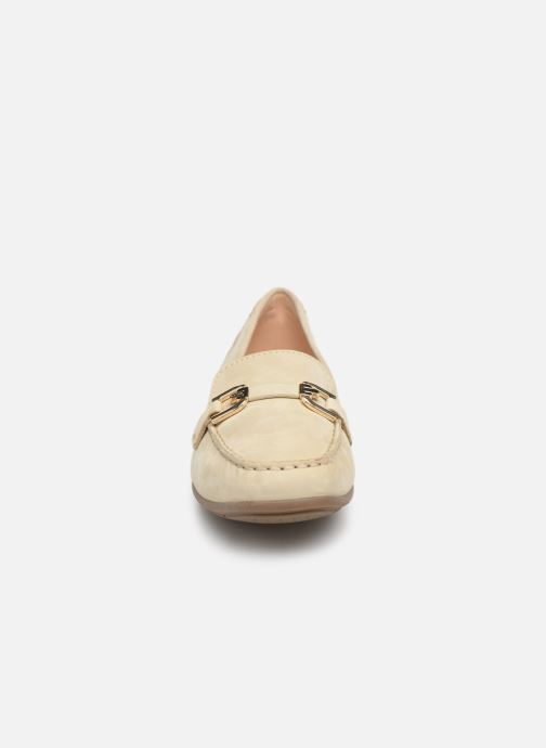 Loafers Geox D ANNYTHAH MOC A D84BMA Beige model view