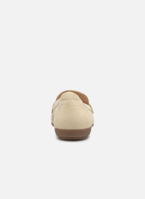 Loafers Geox D ANNYTHAH MOC A D84BMA Beige view from the right