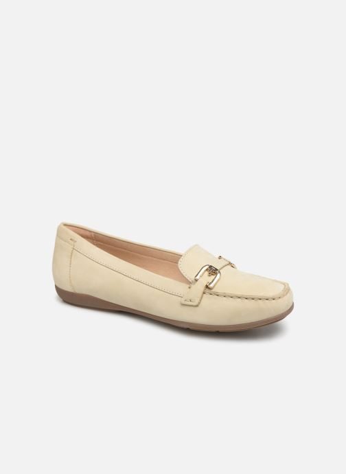 Loafers Geox D ANNYTHAH MOC A D84BMA Beige detailed view/ Pair view