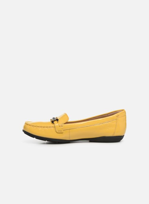 Loafers Geox D ANNYTAH MOC A D92BMA Yellow front view