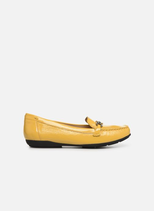 Loafers Geox D ANNYTAH MOC A D92BMA Yellow back view