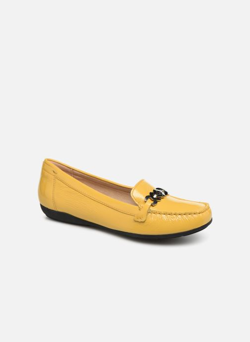Loafers Geox D ANNYTAH MOC A D92BMA Yellow detailed view/ Pair view