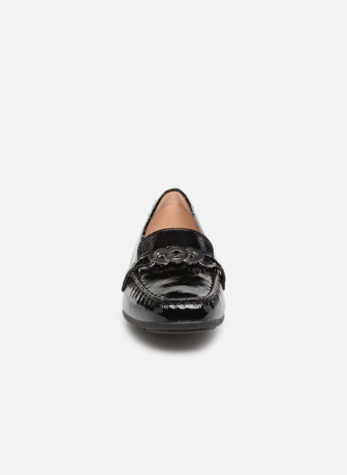 Mocassins Geox D ANNYTAH MOC A D92BMA Noir vue portées chaussures