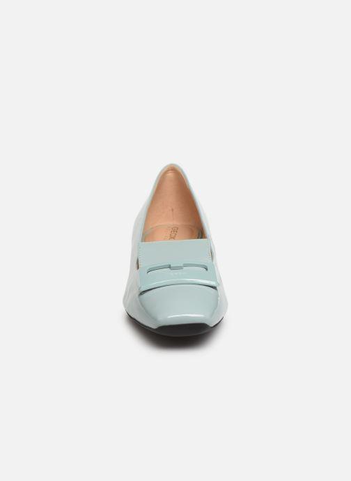 Mocassins Geox D VIVYANNE A D849MA Vert vue portées chaussures
