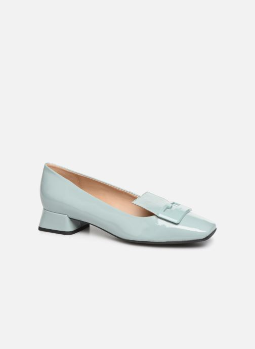 Loafers Geox D VIVYANNE A D849MA Green detailed view/ Pair view