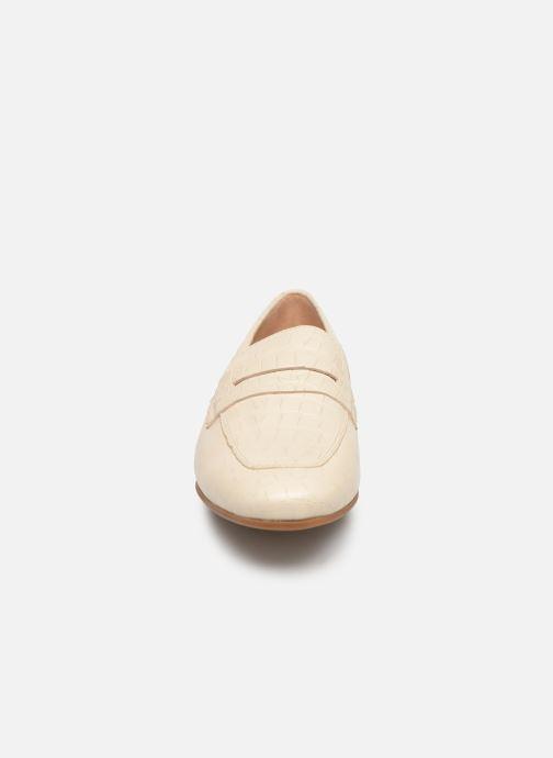 Mocassins Geox D MARLYNA B D828PB Blanc vue portées chaussures