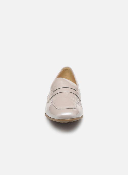 Mocassins Geox D MARLYNA B D828PB Gris vue portées chaussures