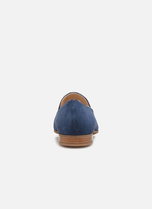 Mocassins Geox D MARYLINA B D928PB Bleu vue droite