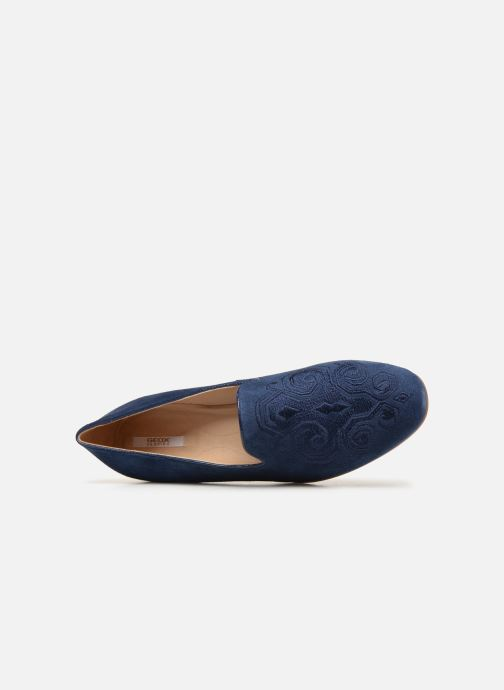 Loafers Geox D MARYLINA B D928PB Blue view from the left