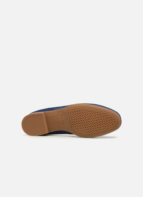 Loafers Geox D MARYLINA B D928PB Blue view from above