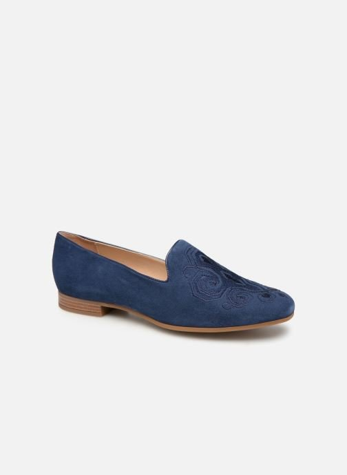 Loafers Geox D MARYLINA B D928PB Blue detailed view/ Pair view