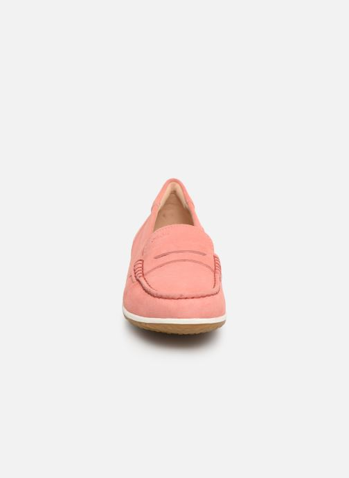 Loafers Geox D VEGA MOC A D92DNA Pink model view