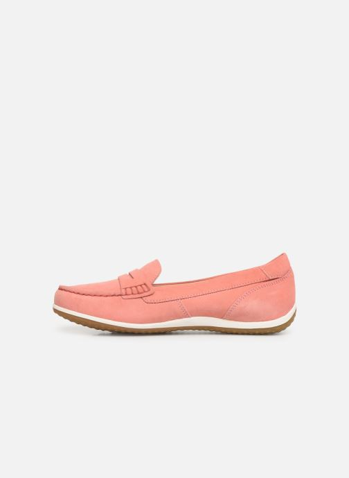 Loafers Geox D VEGA MOC A D92DNA Pink front view