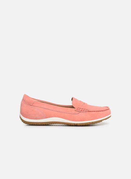 Loafers Geox D VEGA MOC A D92DNA Pink back view