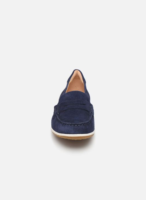 Mocassins Geox D VEGA MOC A D92DNA Blauw model