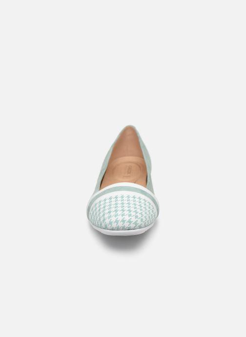 Ballerines Geox D ANNYTAH A D927NA Vert vue portées chaussures