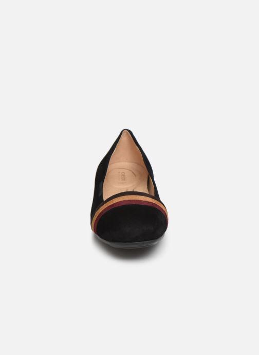 Ballerines Geox D ANNYTAH A D927NA Noir vue portées chaussures
