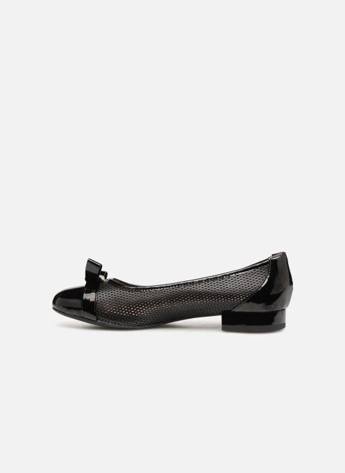 Ballerina's Geox D WISTREY D D924GD Zwart voorkant