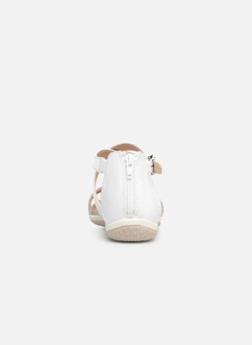 Sandales et nu-pieds Geox D SAND VEGA F D92R6F Blanc vue droite