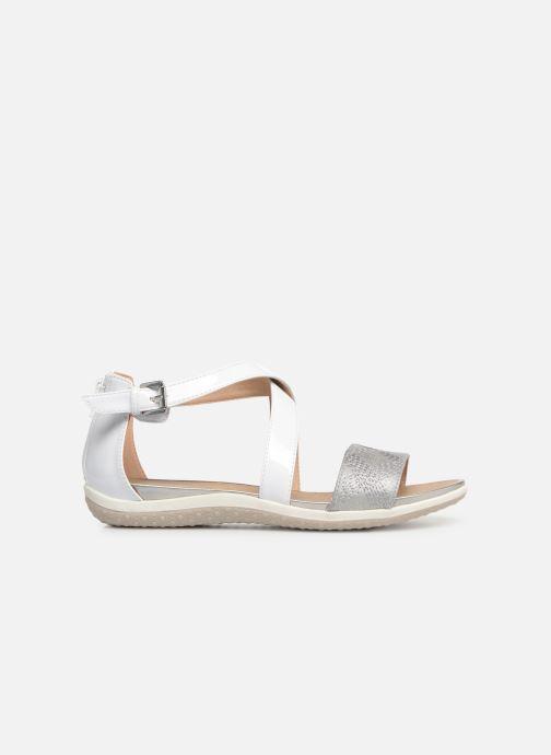 Sandales et nu-pieds Geox D SAND VEGA F D92R6F Blanc vue derrière