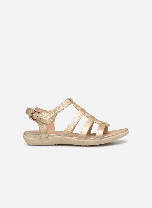 Sandales et nu-pieds Geox D SAND VEGA A D72R6A Or et bronze vue derrière