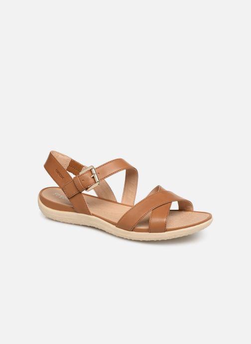 Sandales et nu-pieds Geox D SAND VEGA E D92R6E Marron vue détail/paire