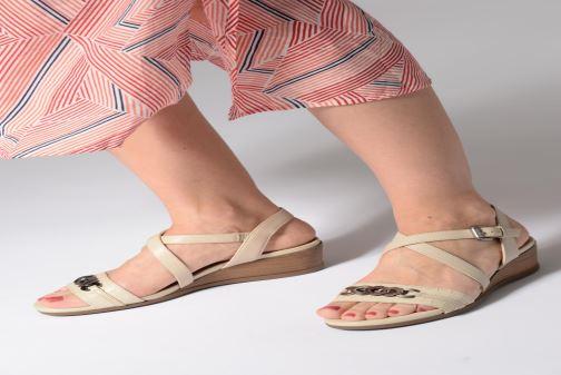 Sandales et nu-pieds Geox D MARYKARMENN A D928QA Noir vue bas / vue portée sac