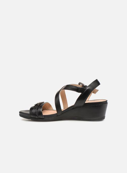Sandales et nu-pieds Geox D MARYKARMENN A D928QA Noir vue face