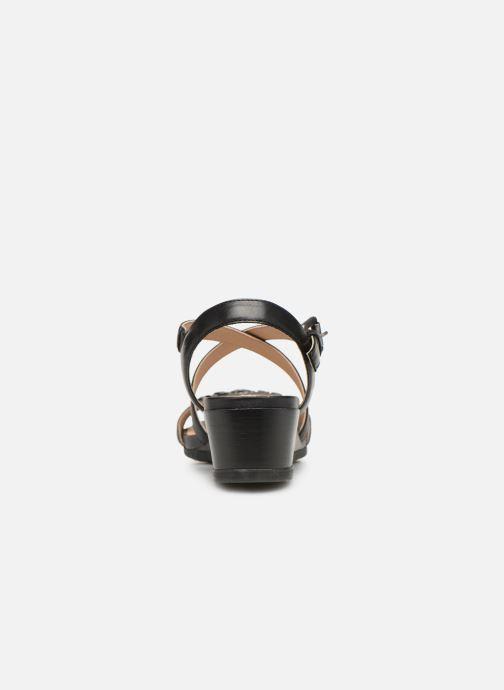 Sandales et nu-pieds Geox D MARYKARMENN A D928QA Noir vue droite