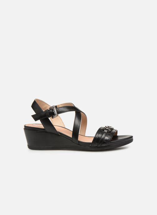Sandales et nu-pieds Geox D MARYKARMENN A D928QA Noir vue derrière
