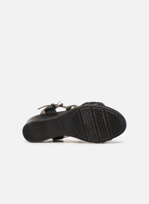 Sandales et nu-pieds Geox D MARYKARMENN A D928QA Noir vue haut