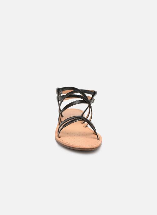 Sandales et nu-pieds Geox D SOZY L D922CL Noir vue portées chaussures