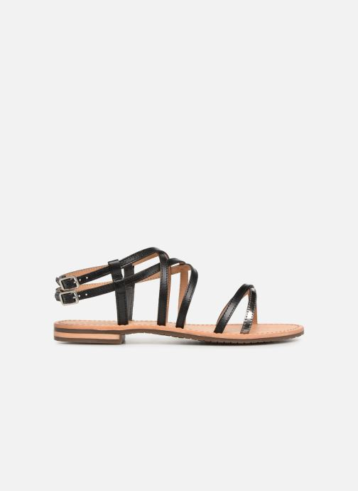 Sandales et nu-pieds Geox D SOZY L D922CL Noir vue derrière