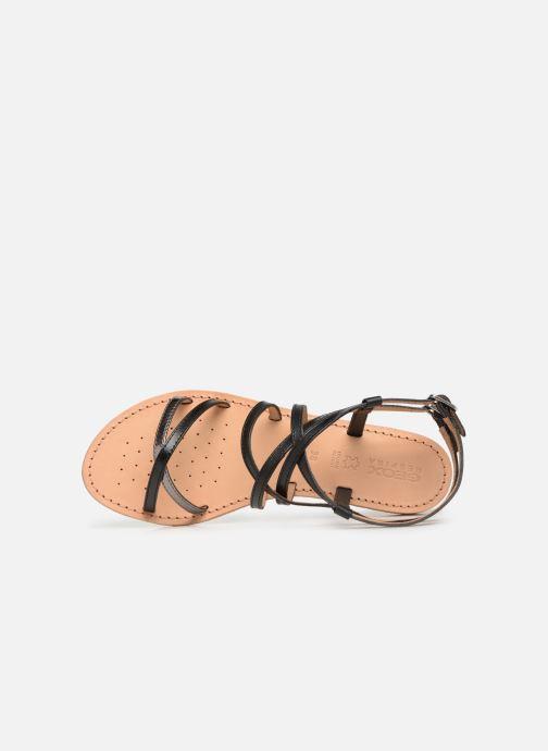 Sandales et nu-pieds Geox D SOZY L D922CL Noir vue gauche
