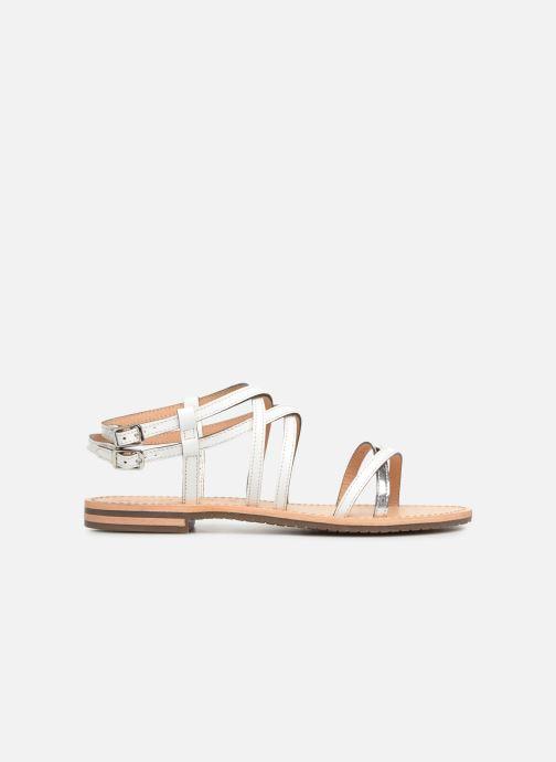Sandales et nu-pieds Geox D SOZY L D922CL Blanc vue derrière