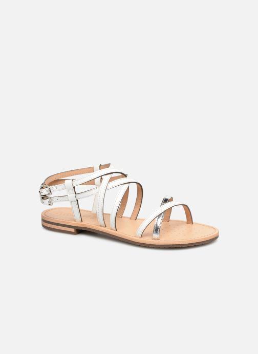 Sandales et nu-pieds Geox D SOZY L D922CL Blanc vue détail/paire
