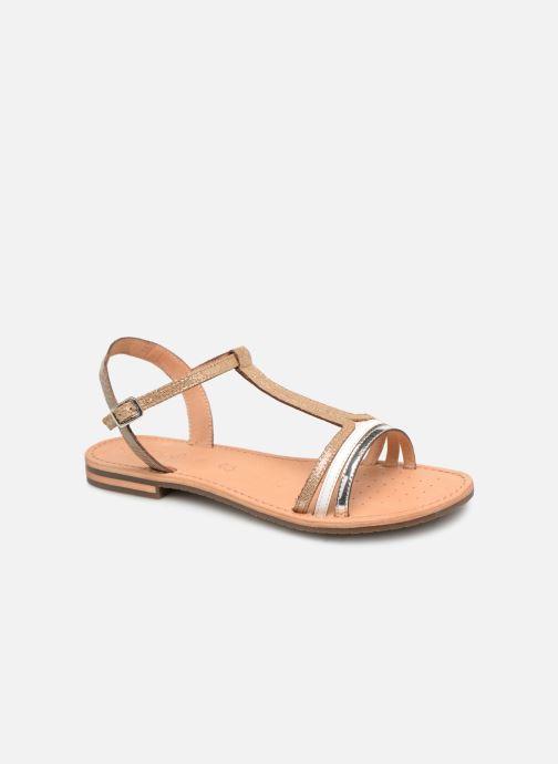 Sandals Geox D SOZY E D922CE Beige detailed view/ Pair view