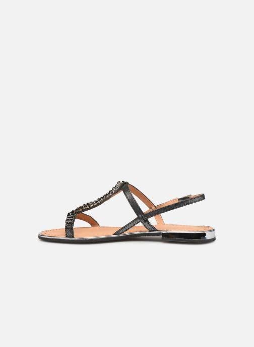 Sandales et nu-pieds Geox D SOZY G D92DQG Noir vue face
