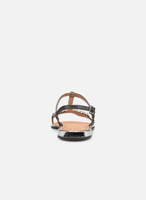 Sandales et nu-pieds Geox D SOZY G D92DQG Noir vue droite