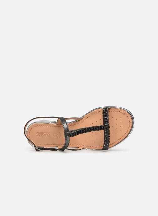 Sandali e scarpe aperte Geox D SOZY G D92DQG Nero immagine sinistra