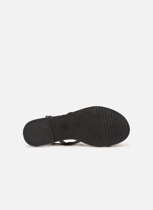 Sandales et nu-pieds Geox D SOZY G D92DQG Noir vue haut