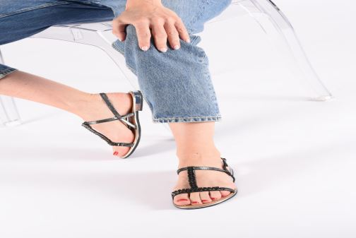 Sandals Geox D SOZY G D92DQG Pink view from underneath / model view
