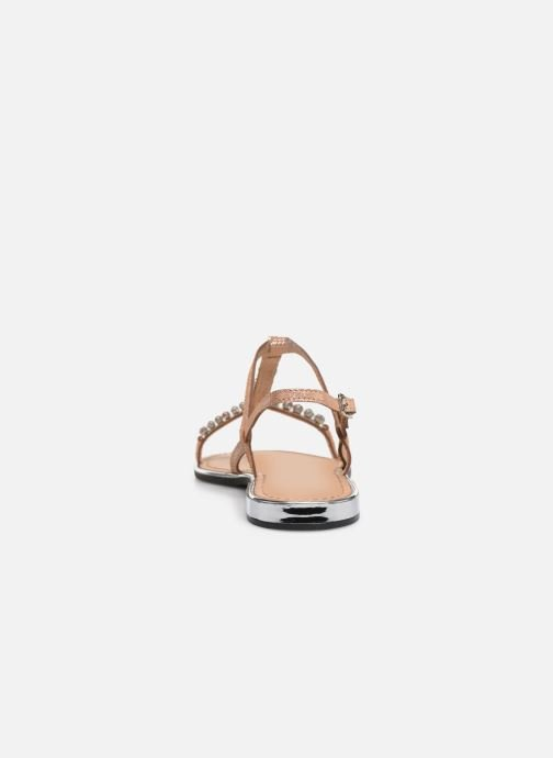 Sandals Geox D SOZY G D92DQG Pink view from the right