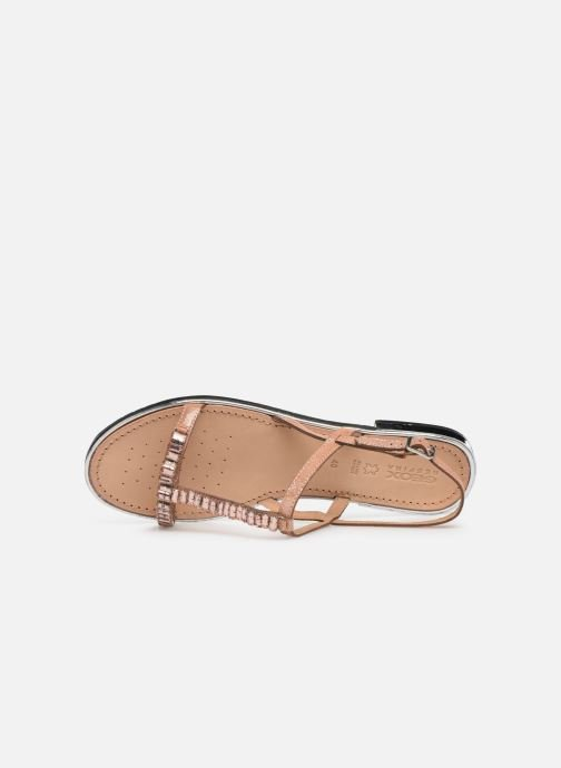 Sandals Geox D SOZY G D92DQG Pink view from the left