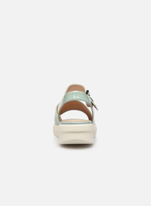 Sandali e scarpe aperte Geox D WIMBLEY A D92DPA Verde immagine destra
