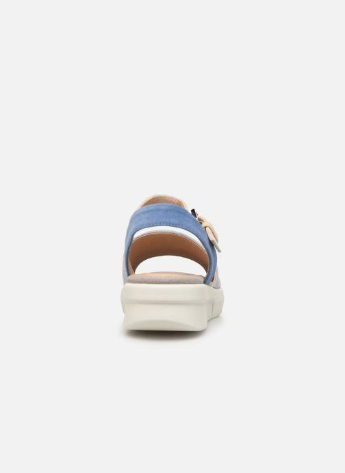 Sandales et nu-pieds Geox D WIMBLEY A D92DPA Bleu vue droite