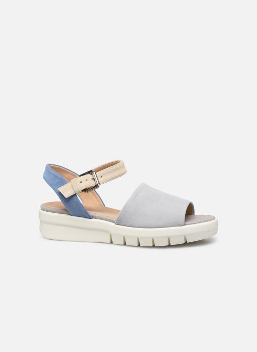 Sandales et nu-pieds Geox D WIMBLEY A D92DPA Bleu vue derrière